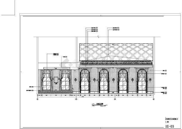 【阜阳】奢华欧式风格二层售楼处室内装修图(含效果)