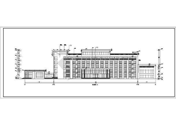 【河南】某欧式六层办公楼建筑方案图(含效果图)