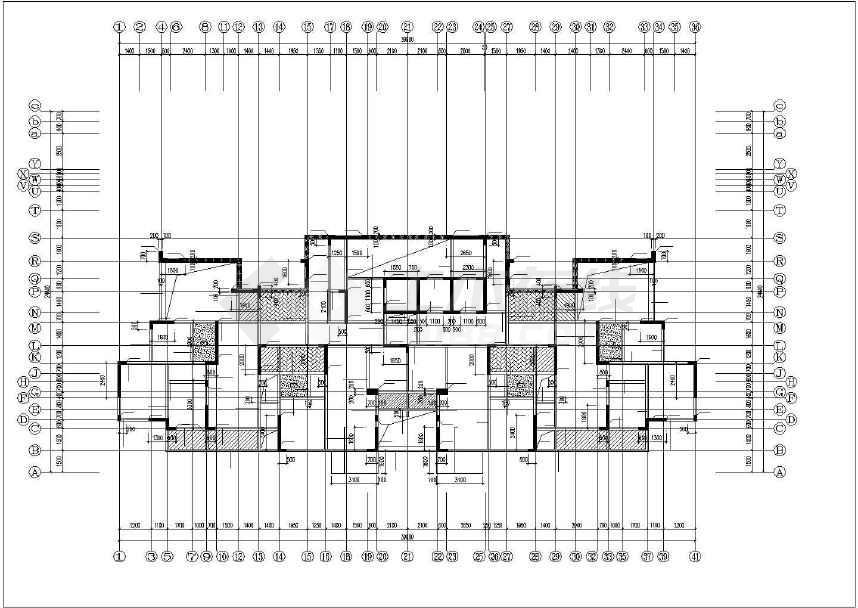 重庆万硕江城一品高层结构施工图,边坡施工图,塔吊定位图.