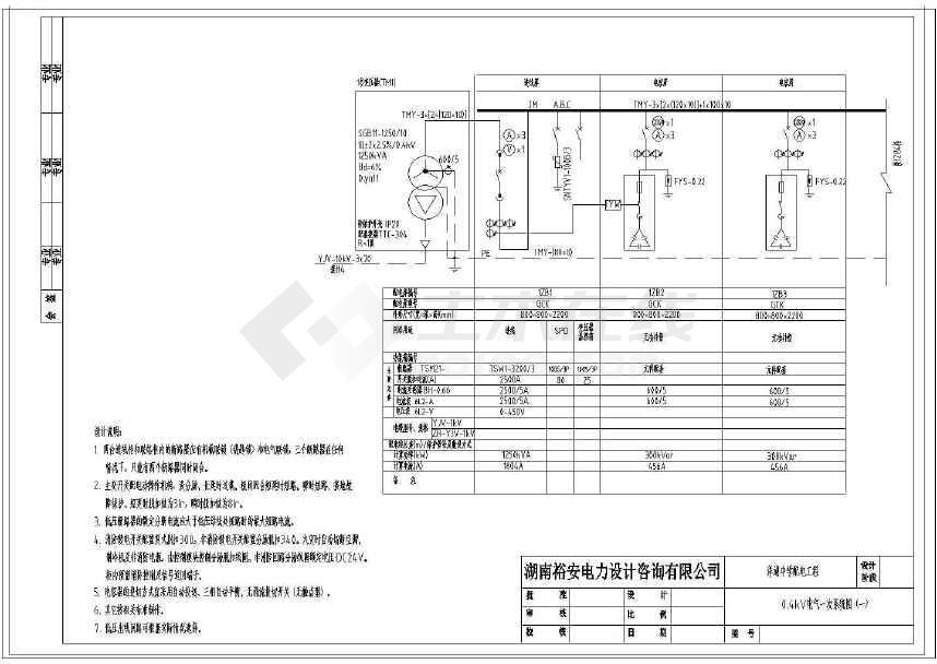 【安徽】图纸施工工程设计配电中学图纸桶泵机组图片