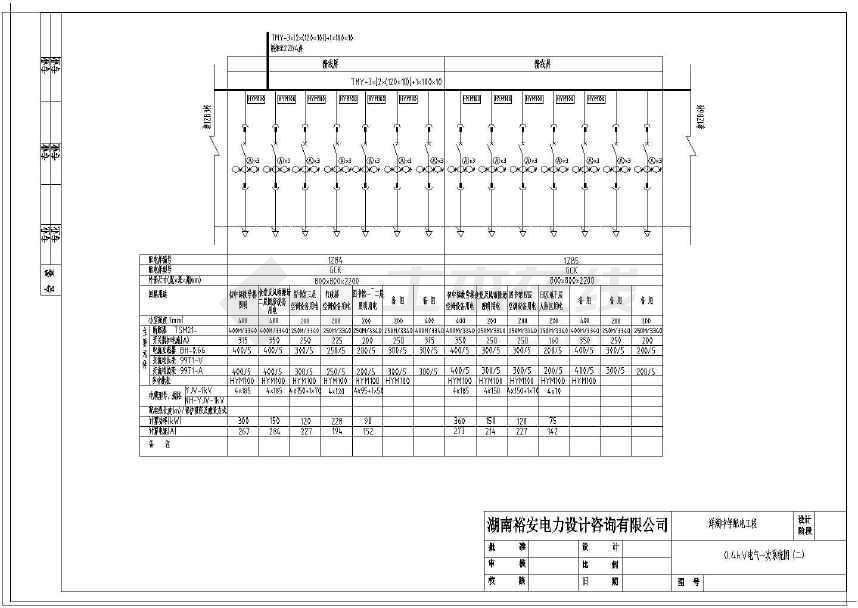 【安徽】中学施工工程设计配电图纸图纸建筑大全符号电工图片