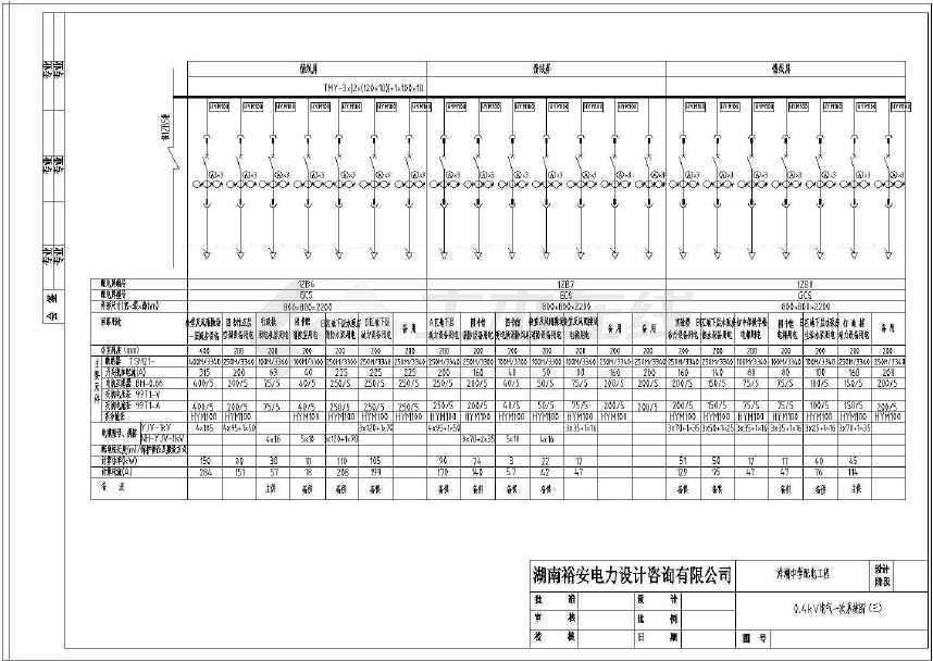 【安徽】中学施工工程设计配电图纸食用油油罐图纸图片