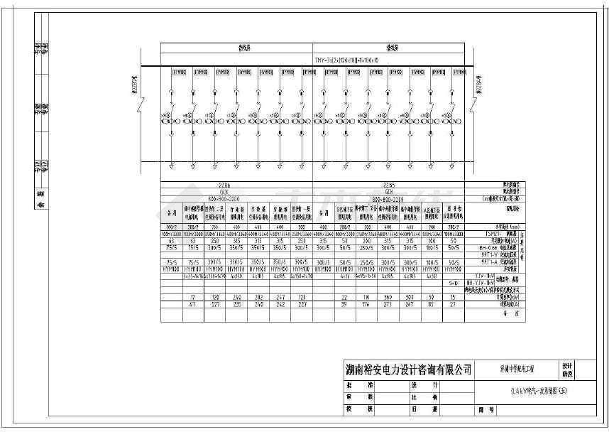 【安徽】中学施工工程设计配电图纸鱼缸设计大型图纸图片