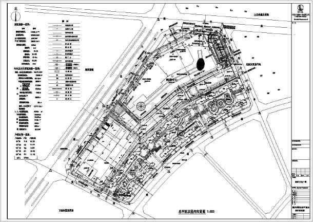 【福建】五星级酒店给排水施工图(生活热水系统,泳池循环水系统)