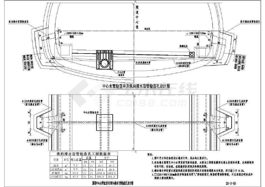 隧道施工工序_【广西】某双向分离式隧道设计施工图(穿越山体)下载-土木在线