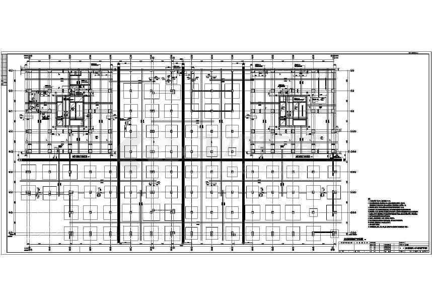 【吉林】30层框架核心双塔双筒超高层商住楼结构施工