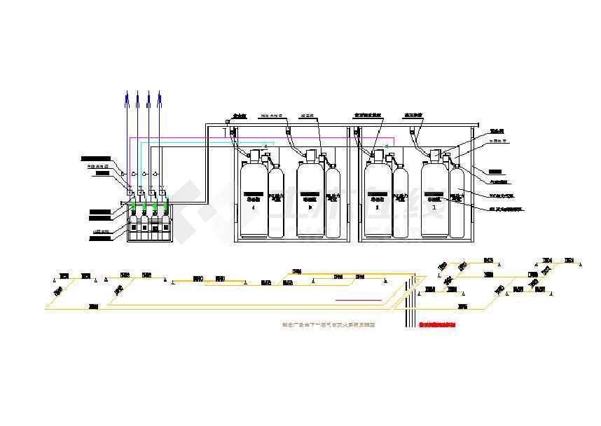 水消防系统施工图(
