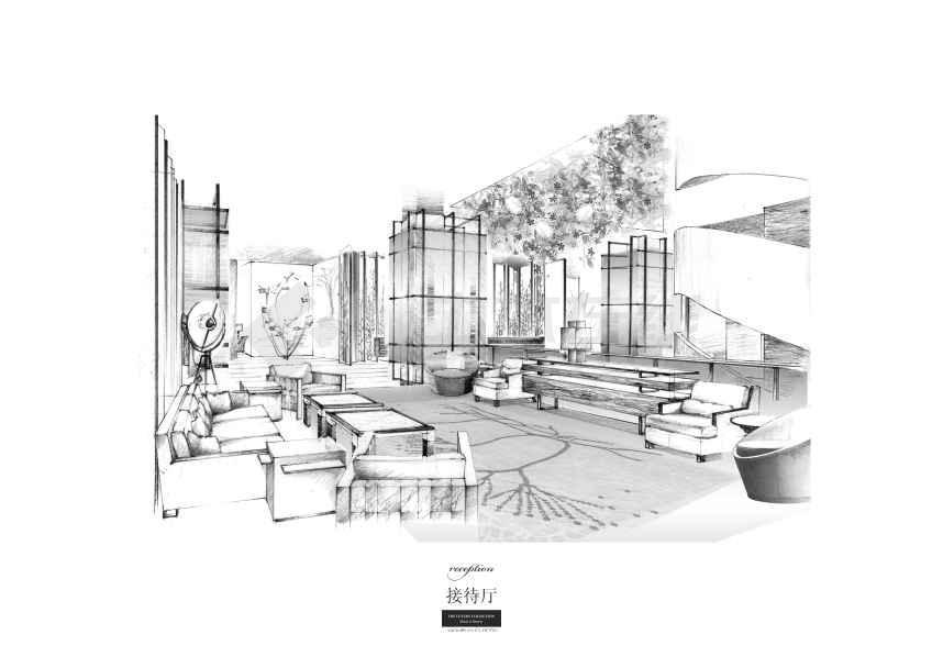 【上海】衡山路大酒店室内概念方案设计(含jpg和ppt)