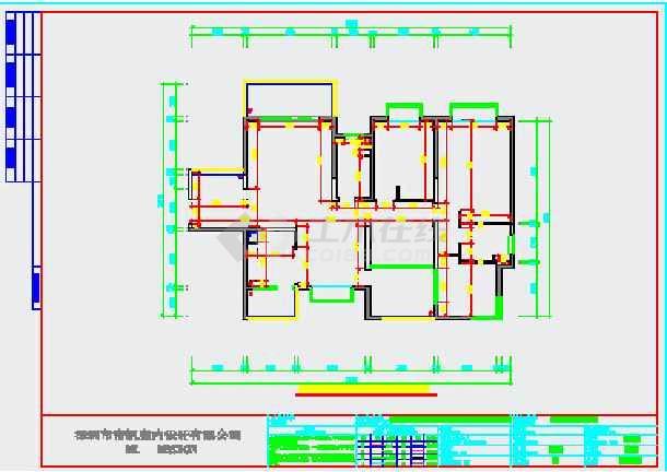 欧式风格家装设计完整施工图(附效果图)