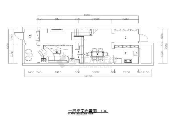 活激活主题三层带地下室风格装修施工CAD图cad回事别墅错误怎么出现图片