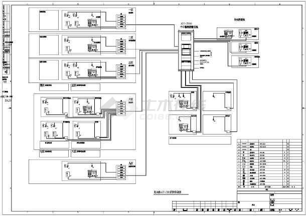 某化工项目扩音对讲系统图-图二