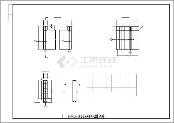 路桥施工预应力空心板桥梁结构构造cad施工图纸-图3