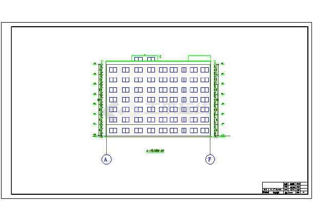 7200平米七层教学综合楼建筑、结构设计全套图(框架结构)毕业设计(计算书、任务书、封面、翻译、综述、摘要、开题报告、图纸)-图2
