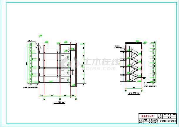 3000平米四层办公综合楼建筑、结构全套图(框架结构)毕业设计(含计算书、开题报告、摘要、翻译、目录、必须用的字体、建筑图、结构图、)-图2