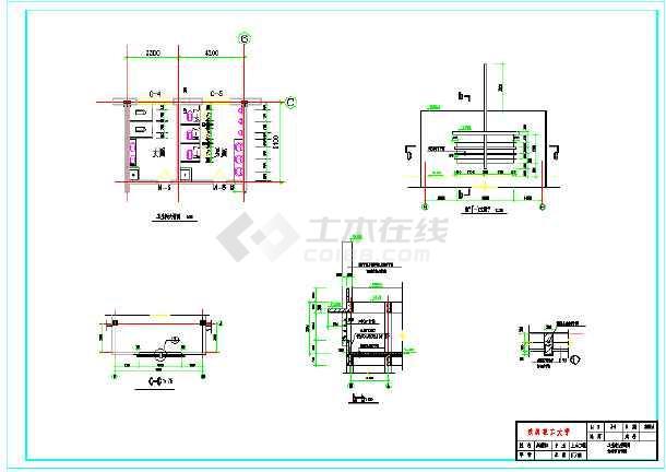 3000平米四层办公综合楼建筑、结构全套图(框架结构)毕业设计(含计算书、开题报告、摘要、翻译、目录、必须用的字体、建筑图、结构图、)-图3
