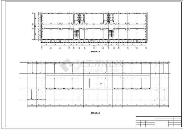 5000平米六层大学教学楼建筑、结构全套设计图(框架结构)优秀毕业设计(精美答辩PPT、计算书、开题报告、任务书、图纸、中期检查表、评阅意见表、指导记录表、推荐表、答辩记录表)-图3