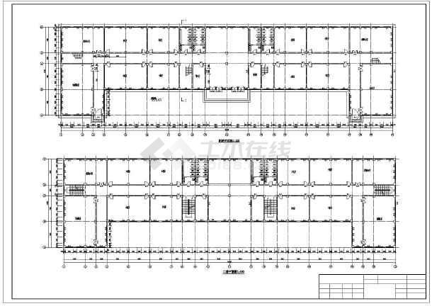1万多平米六层大学教学楼建筑、结构设计全套图(框架结构)毕业设计(含任务书、精美答辩PPT、pptx计算书、开题报告、图纸、翻译、目录、摘要、中期检查表、评阅意见表)-图1