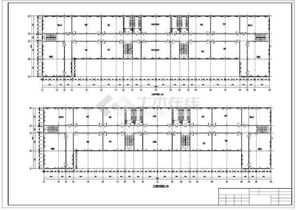 1万多平米六层大学教学楼建筑、结构设计全套图(框架结构)毕业设计(含任务书、精美答辩PPT、pptx计算书、开题报告、图纸、翻译、目录、摘要、中期检查表、评阅意见表)-图2