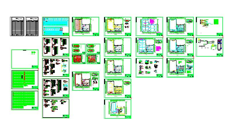 橡胶公司5400平单层钢结构厂房电气施工图(含电气外网施工图、电气总图)图片1