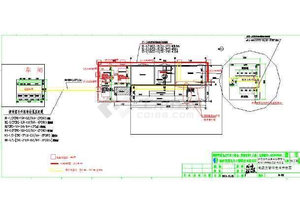 光伏发电高压并网设计cad全套图(标注齐全)-图3