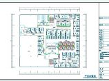 长41.75米宽37.4米完整咖啡店装修设计CAD施工图图片1