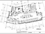 广州某海鲜大饭店装饰装修设计cad施工平面布置图纸(带新风排风图)图片1