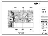 某口腔医院景观设计cad详图-医院绿化设计图图片2