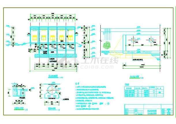 泵房水工及电气图-图2