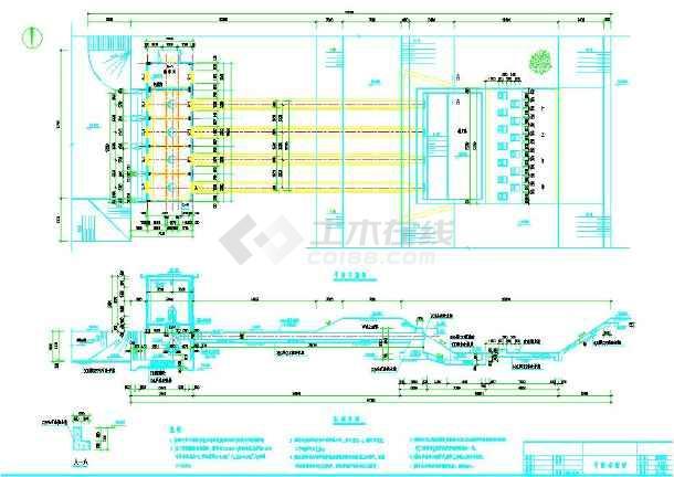 泵房水工及电气图-图3