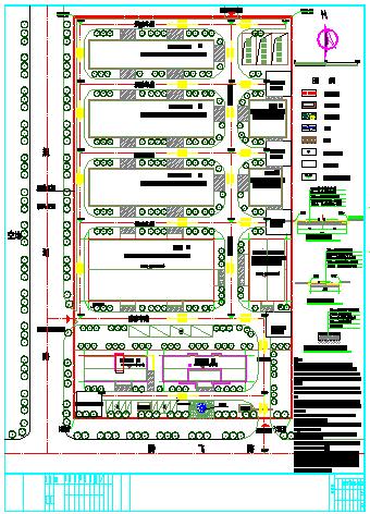 某厂房规划平面设计施工图图片1