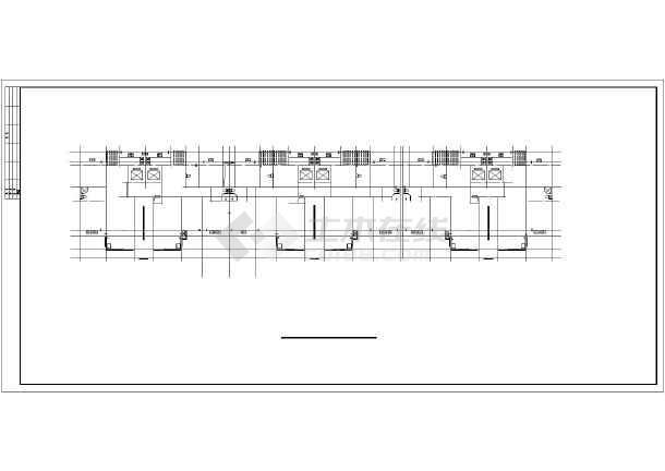 2017年最新整理3套框架剪力结构高层住宅楼建筑cad设计施工图附节能设计(含住宅楼区规划设计施工图、住宅楼户型平面设计图)-图3