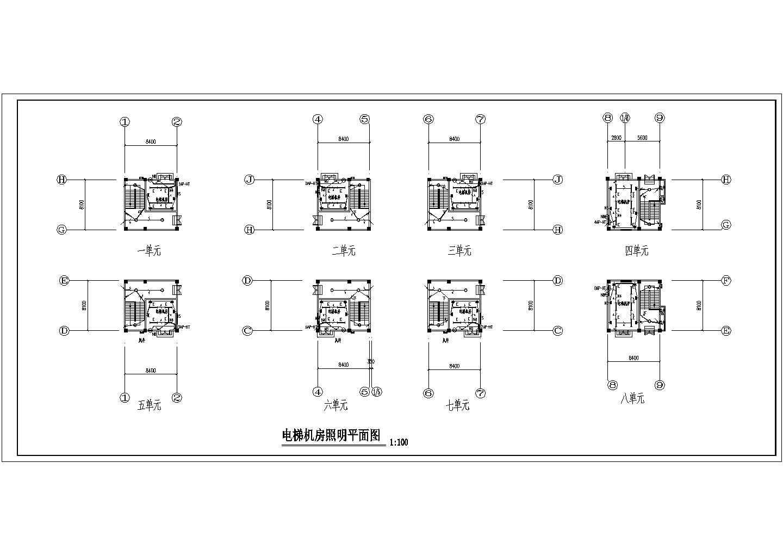 某丙类四层标准厂房电气设计图纸图片3