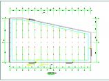 单层厂房全套电气cad设计施工图(含消防水炮、应急照明设计图)图片1