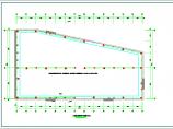 单层厂房全套电气cad设计施工图(含消防水炮、应急照明设计图)图片3