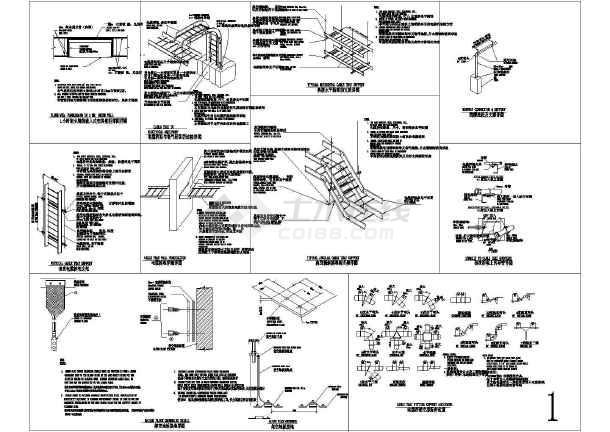 建筑电气施工常用节点详图汇总(桥架、线管、机电设备)-图一
