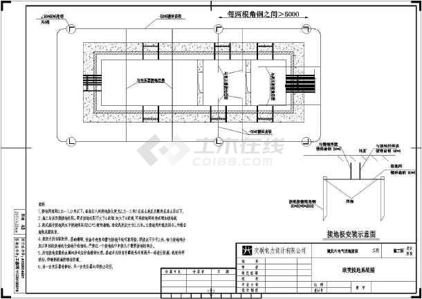 户外一体式变电站CAD(美式+欧式)-图一