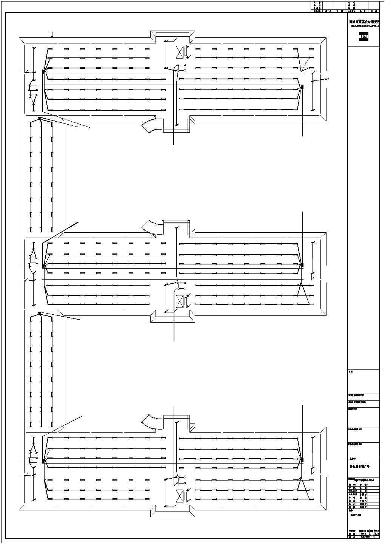 某地区孵化园标准厂房电气设计施工图图片1