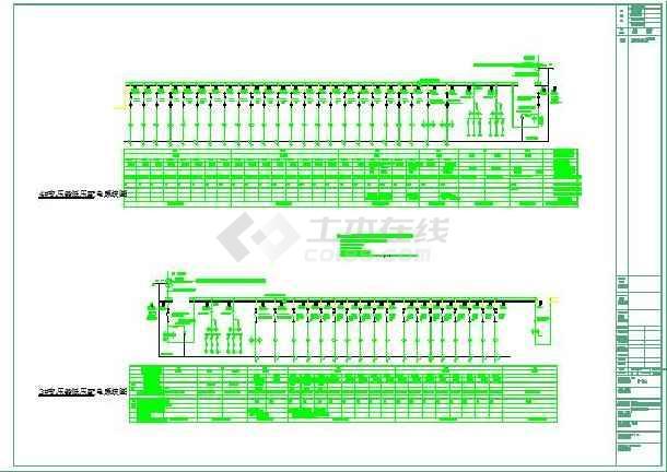 203492平方米星级酒店供配电系统图-图1