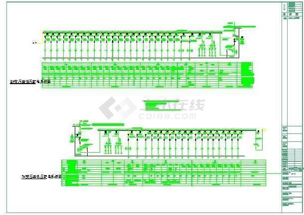 203492平方米星级酒店供配电系统图-图2