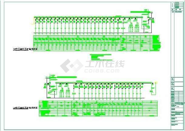 203492平方米星级酒店供配电系统图-图3