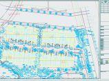 联排别墅小区景观植物配置图图片1