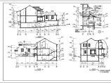 中式园林别墅建筑设计全套图纸图片1