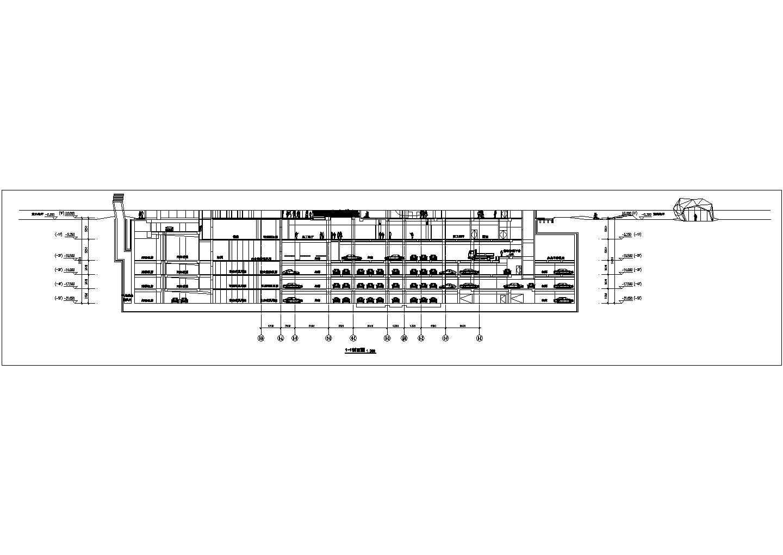 某地区5层现代风格商业广场平面图设计方案(知名设计公司)图片1