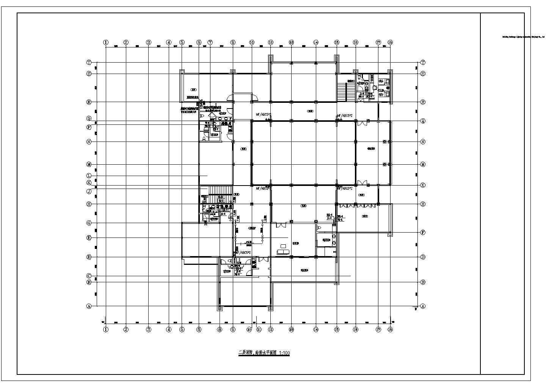 某禅修院精装修卫生间给排水大样设计图图片3