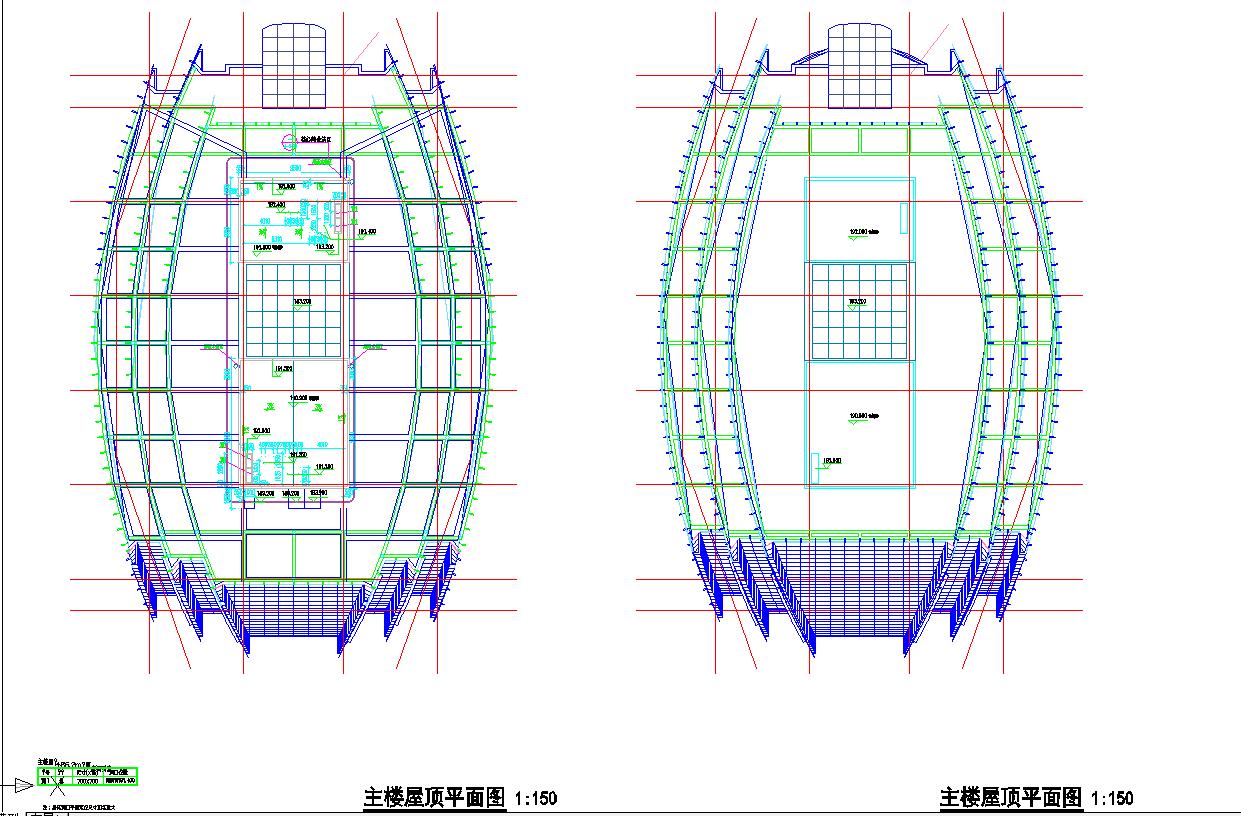 某地区四十二层超高层国际广场平面图图片3