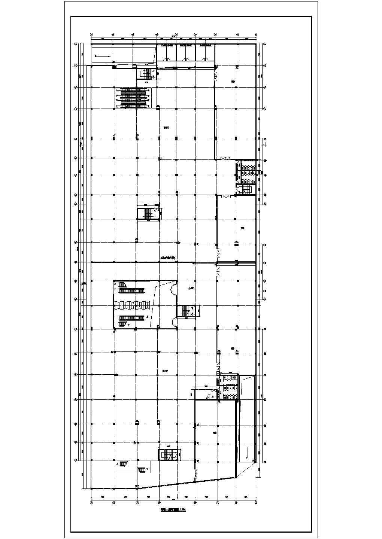 某地区商场带地下二层停车场建施CAD图图片2