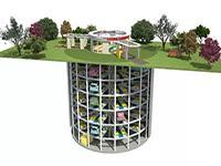 全国首个预制装配沉井式地下机械停车库建设完成