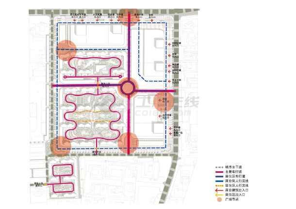 超高层商业大厦综合体建筑设计方案文本(jpg格式)-图3