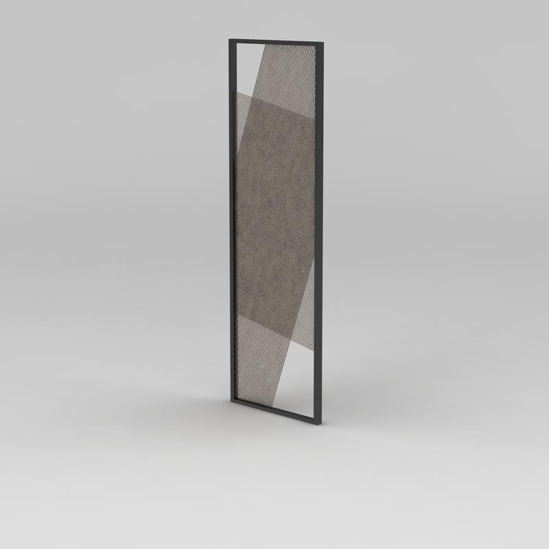 窗扇3D模型下载-图二
