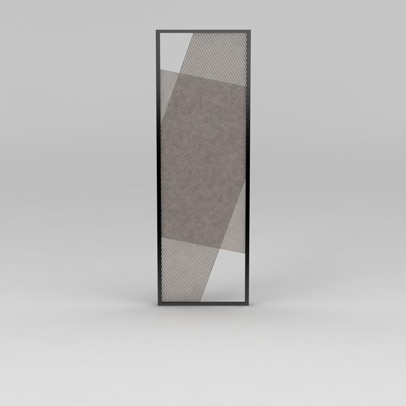 窗扇3D模型下载-图一